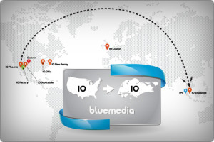 Bluemedia Goes Global